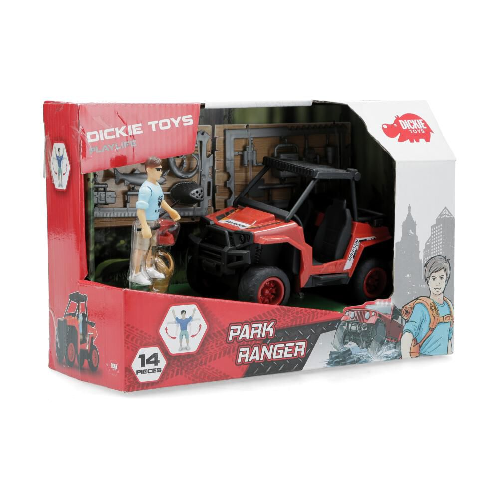 Figura De Accion Dickie Toys Park Ranger image number 1.0