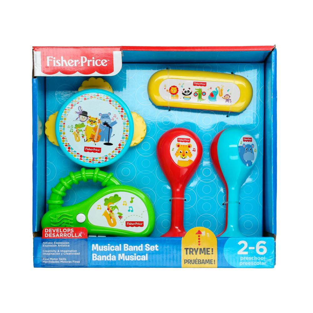 Juego Didactico Fisher Price Banda Musical image number 1.0