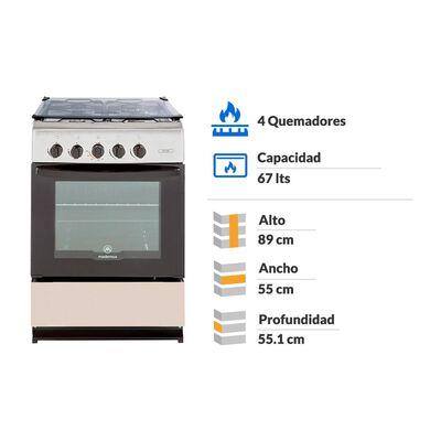 Cocina Mademsa MV220 / 4 Quemadores