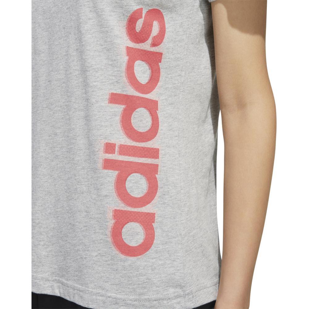 Polera Mujer Adidas Gráfica Vertical image number 10.0