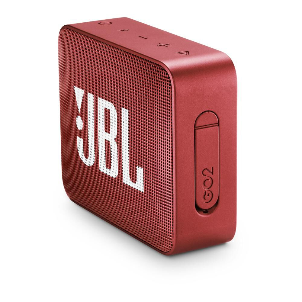 Parlante Bluetooth Jbl Go 2 Red image number 4.0