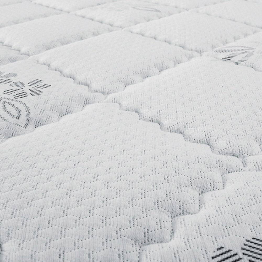 Cama Europea Celta Supreme / 2 Plazas / Base Dividida  + Textil image number 2.0