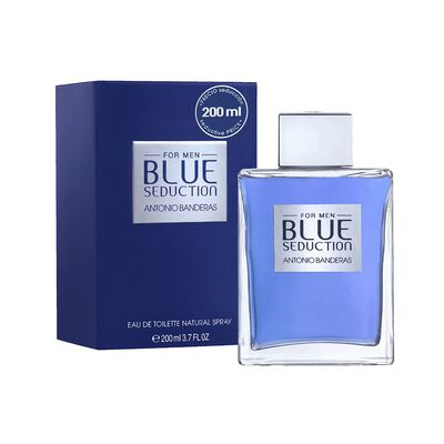 Perfume Antonio Banderas Blue Seduction Edición Limitada / 200 Ml / Edt /