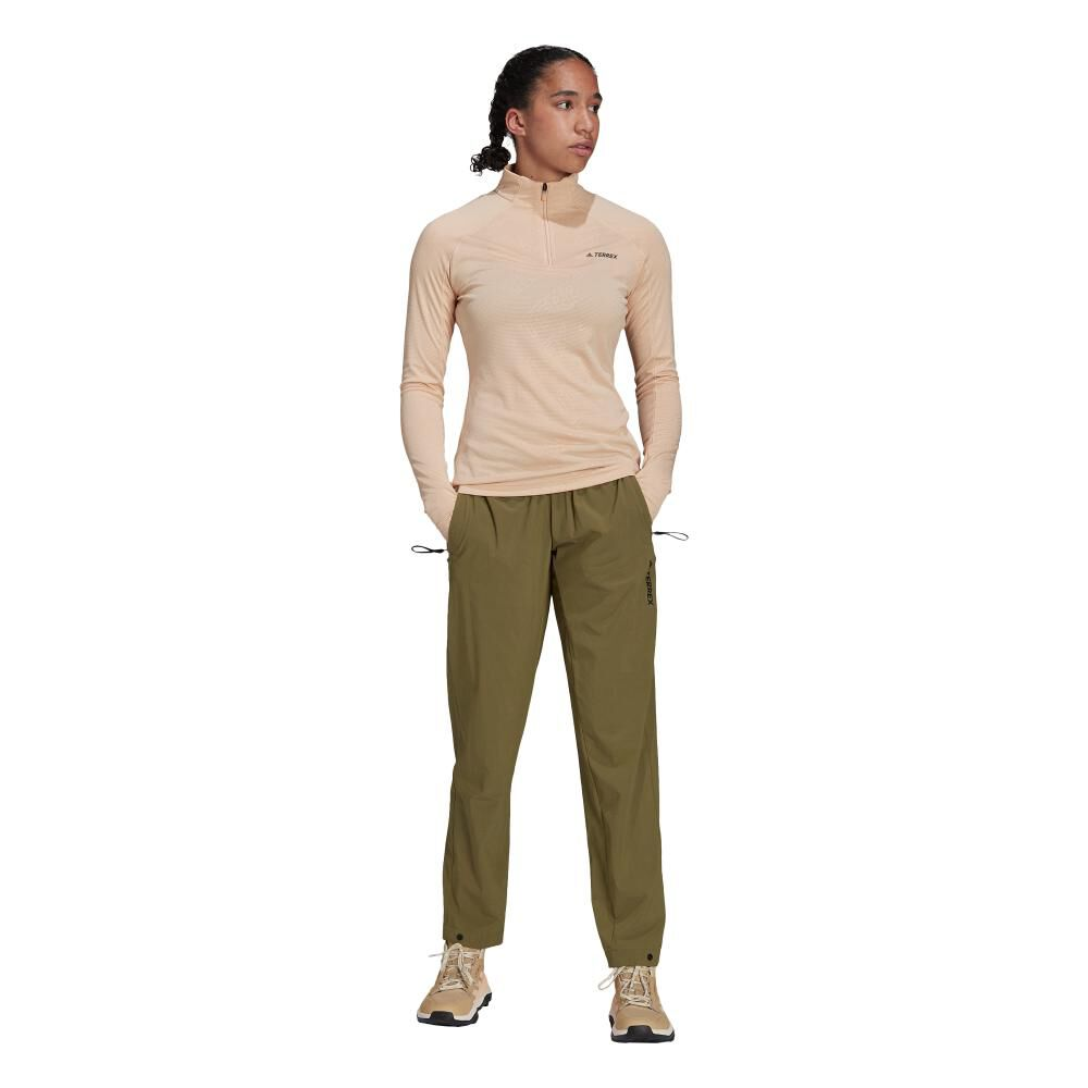 Pantalón De Buzo Mujer Adidas Terrex Liteflex Hiking image number 6.0