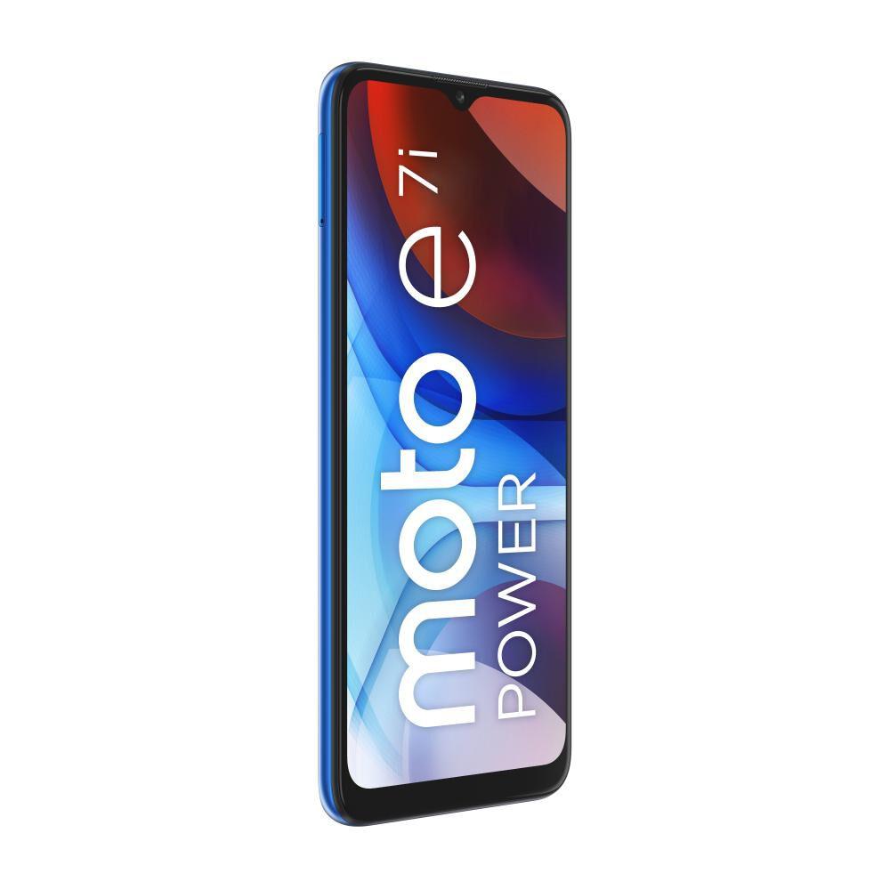 Smartphone Motorola E7i Power Azul / 32 Gb / Movistar image number 3.0