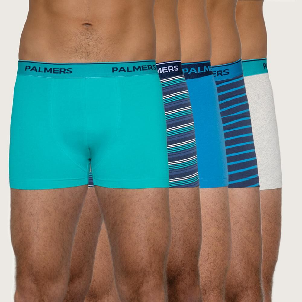 Pack Boxer Medio Hombre Palmers / 5 Unidades image number 0.0