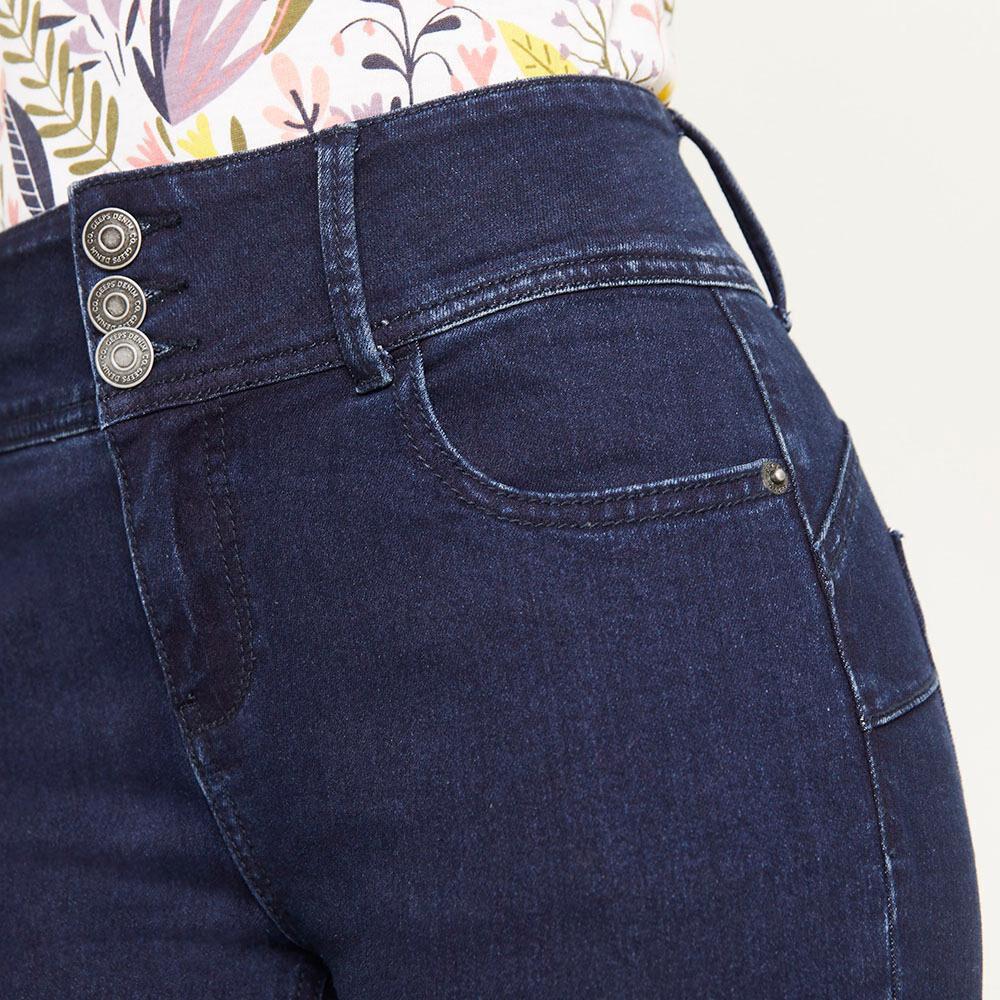 Jeans Tiro Alto Regular Mujer Geeps image number 3.0
