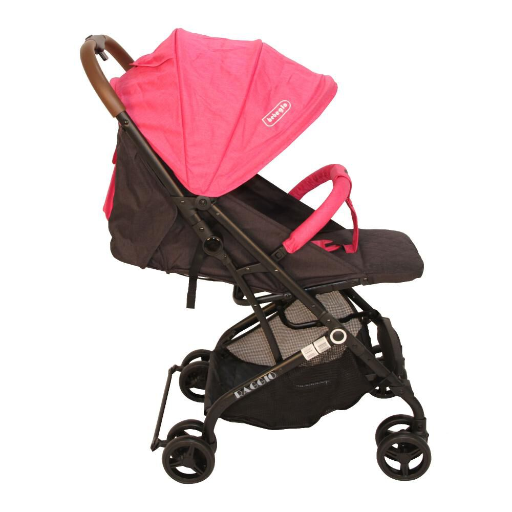 Coche Travel System Compacto Bebeglo RS-13785-2 Fucsia image number 5.0