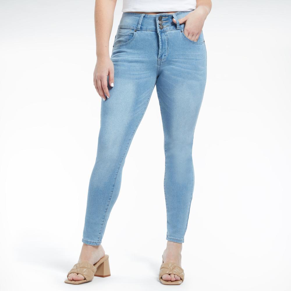 Jeans Mujer Tiro Alto Skinny Kimera image number 1.0