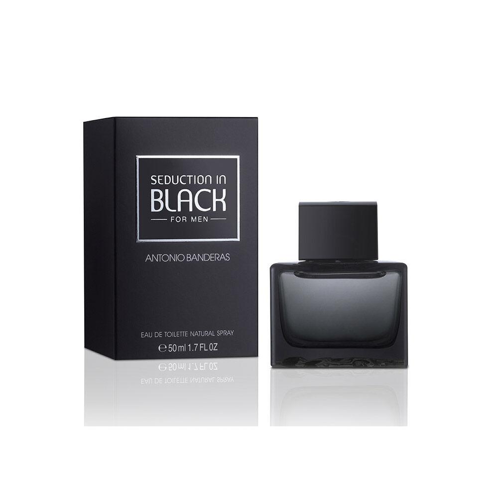 Perfume Antonio Banderas Seduction In Black  / 50Ml /Edt image number 0.0