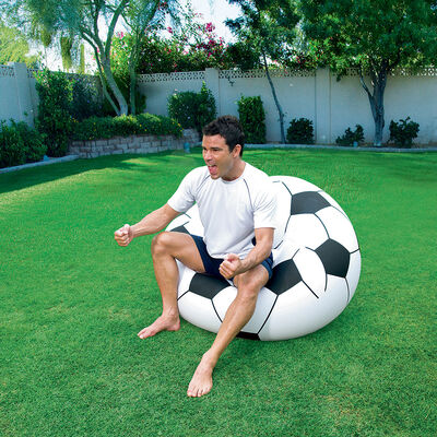 Sillon Inflable Futbol 114 X 112