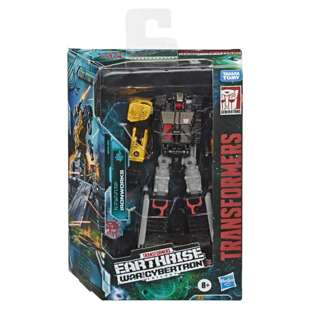 Figura De Accion Transformers Gen Wfc E Deluxe Ironworks image number 0.0