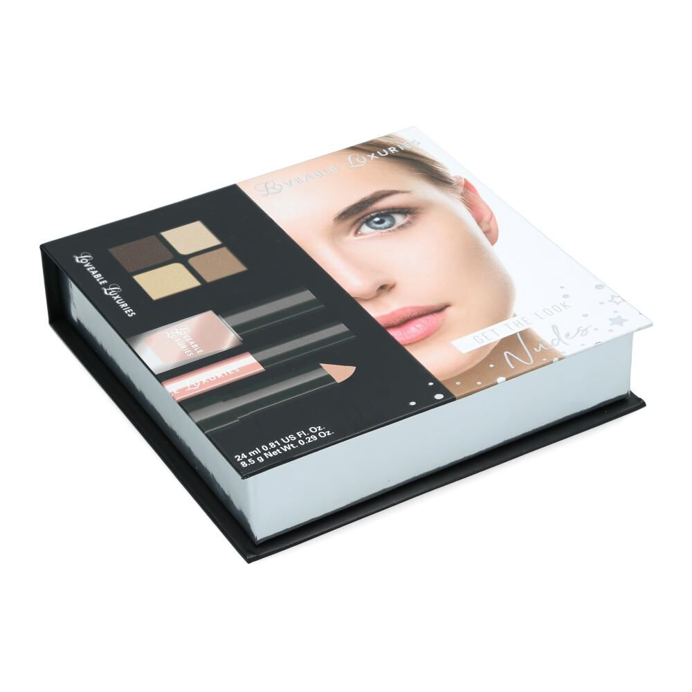 Set De Maquillaje Loveable Luxuries Get The Look Nudes image number 0.0