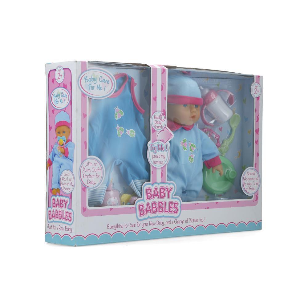 Muñeca Hitoys Baby Babbles image number 1.0