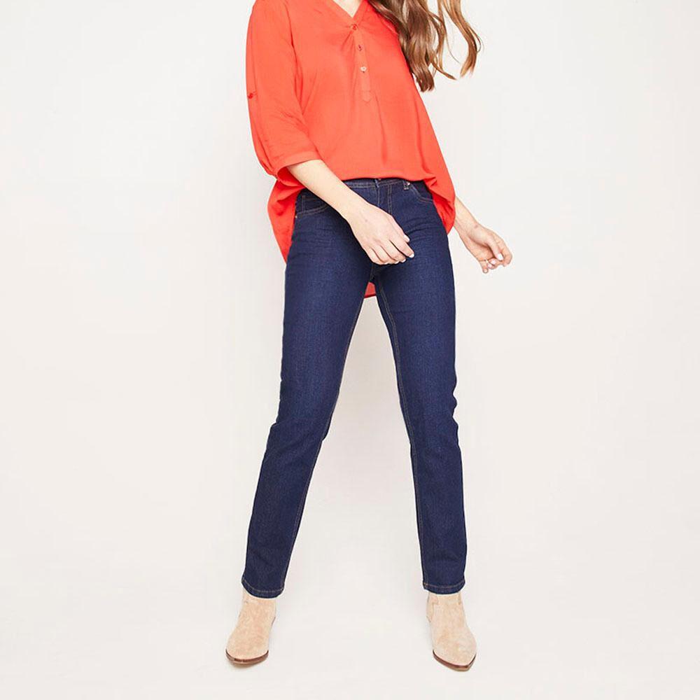 Jeans Mujer Tiro Medio Skinny Geeps image number 1.0