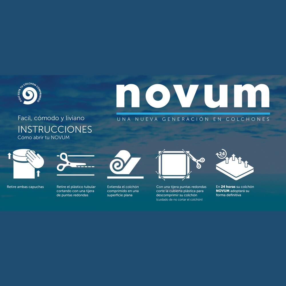 Cama Europea Celta Novum Carbono / 1.5 Plazas / Base Normal image number 4.0