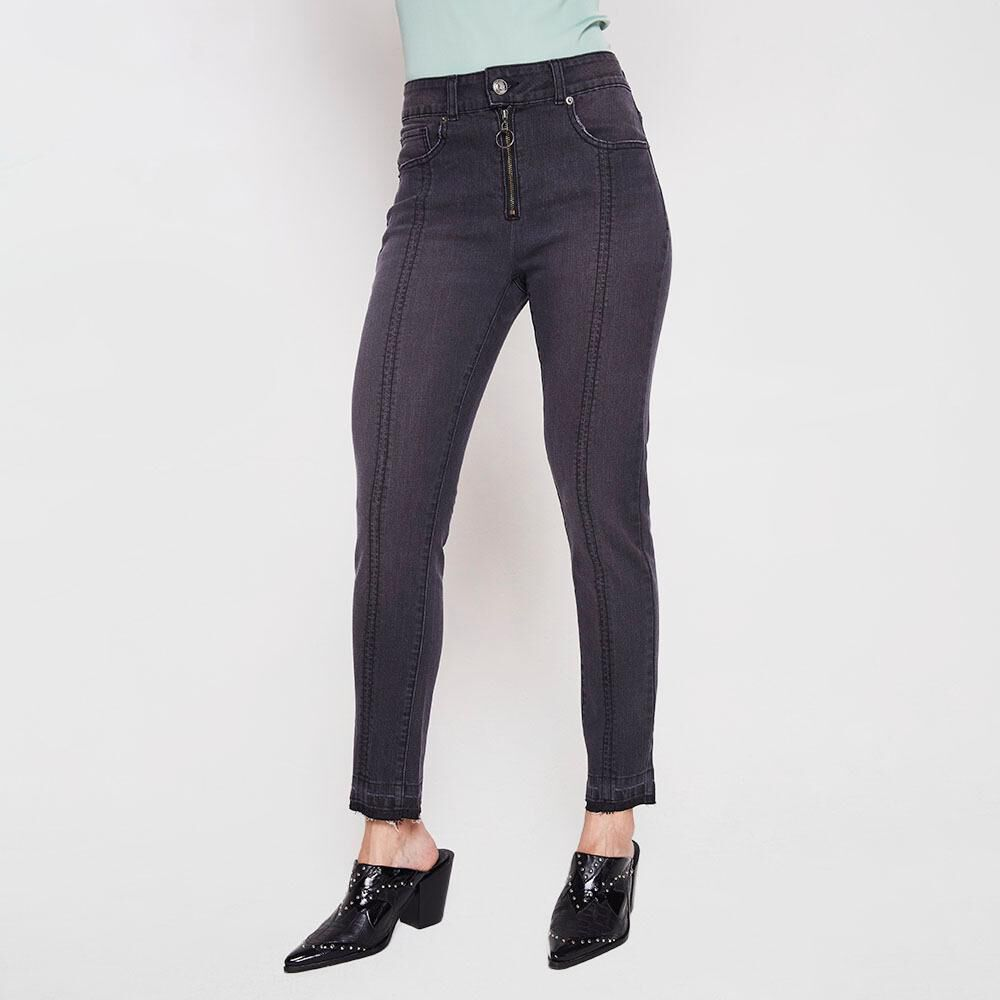 Jeans Crop Mujer Kimera image number 0.0