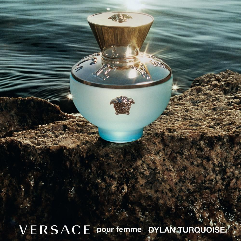 Perfume Dylan Turquoise Versace / 50 Ml / Edt image number 4.0