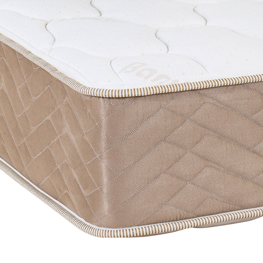 Cama Europea Celta Bamboo / 1 Plaza / Base Normal  + Textil image number 2.0