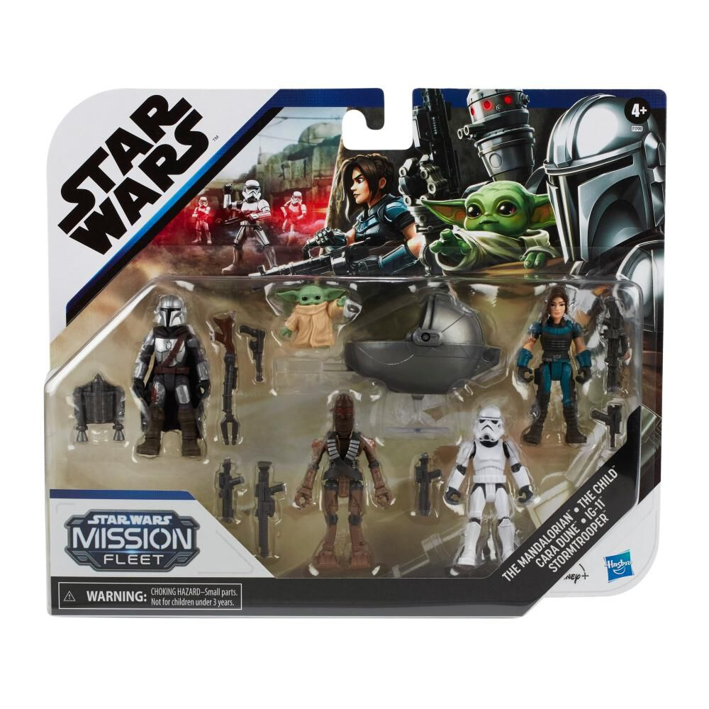 Figuras Star Wars The Mandalorian The Child Mission Fleet image number 0.0