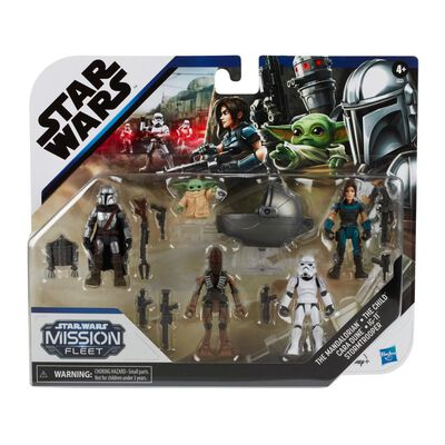 Figuras Star Wars The Mandalorian The Child Mission Fleet
