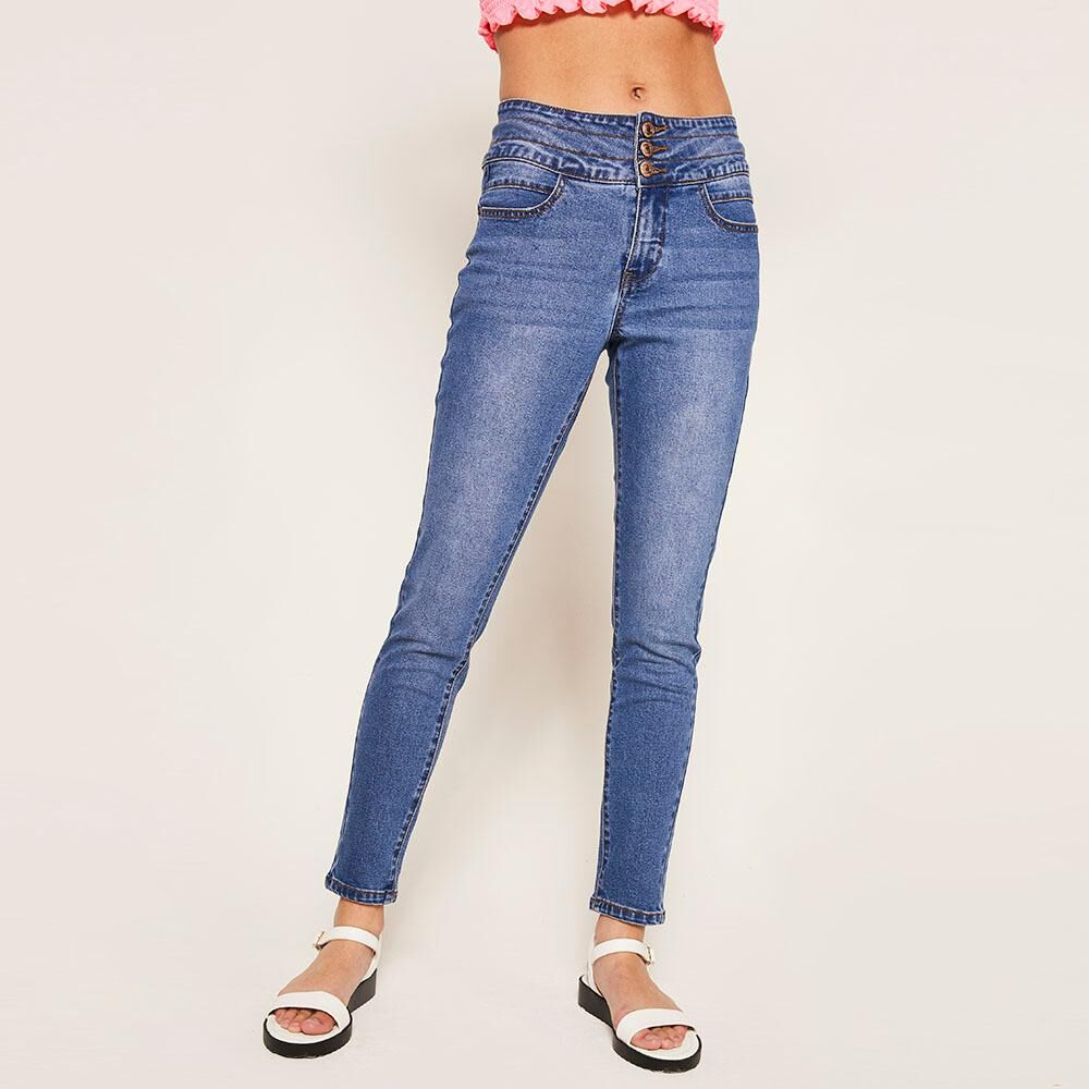 Jeans Mujer Sculpture Freedom image number 0.0