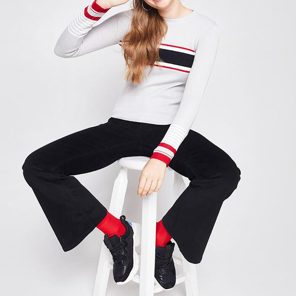 Sweater Rayas Mujer Freedom image number 1.0