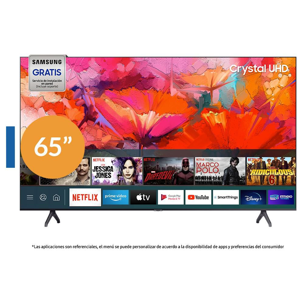 Led Samsung TU6900 / 65'' / Crystal UHD 4K / Smart Tv image number 0.0