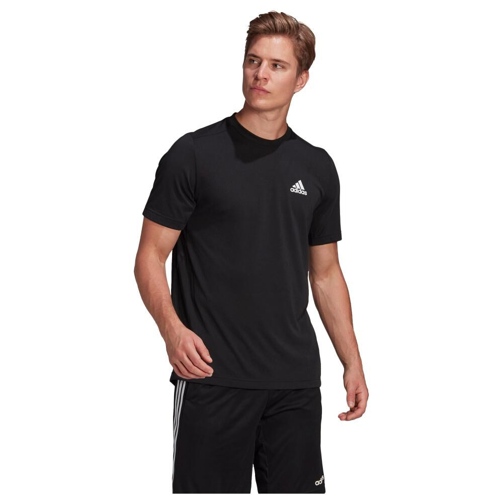 Polera Hombre Adidas Aeroready Designed 2 Move Feelready image number 2.0