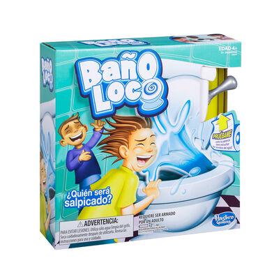 Juego De Mesa Hasbro Gaming Baño Loco