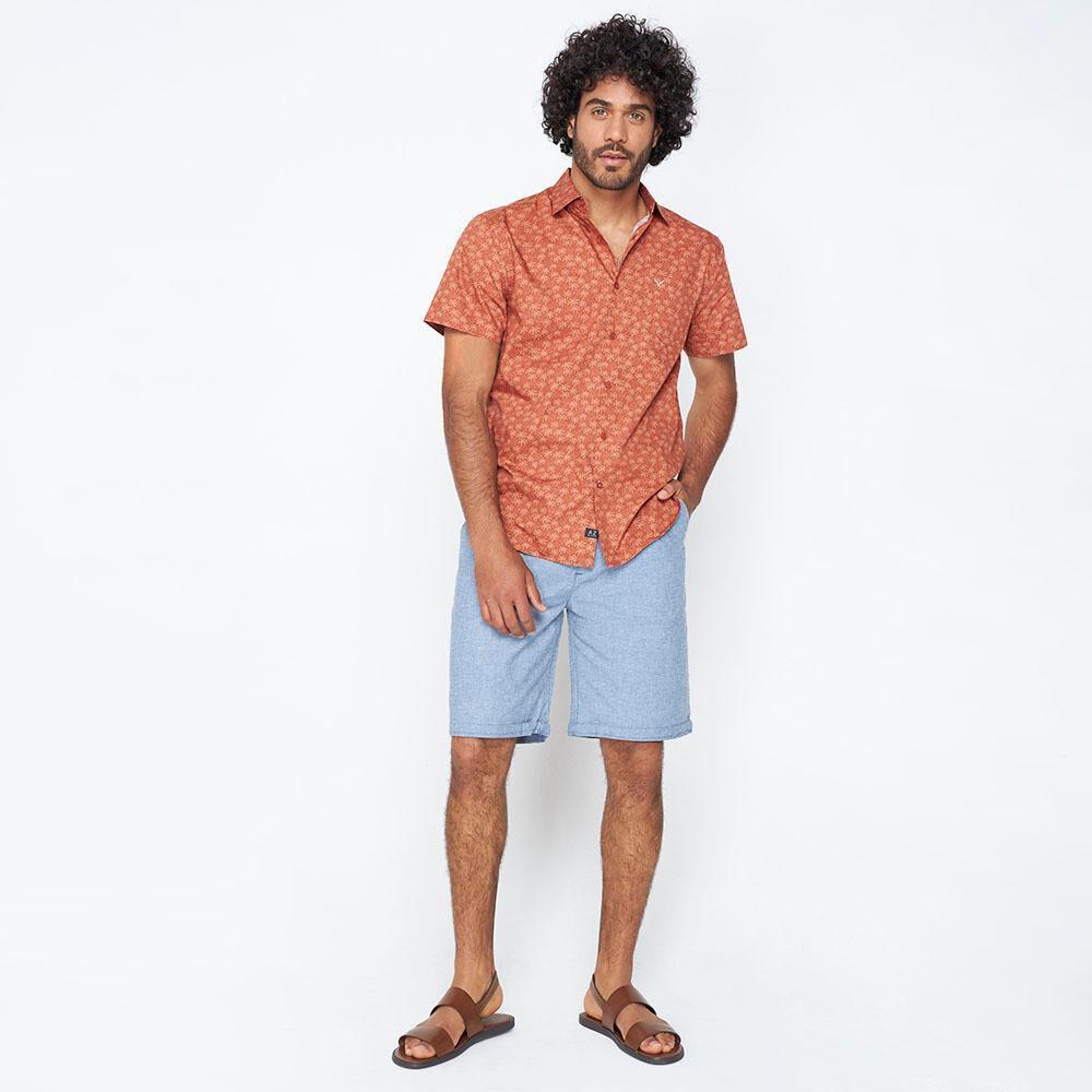 Camisa Hombre Az Black image number 1.0