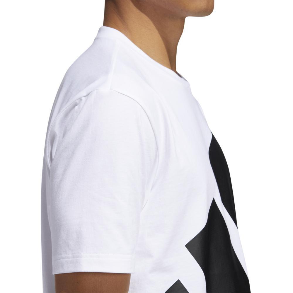 Polera Hombre Adidas Logo Grande image number 5.0