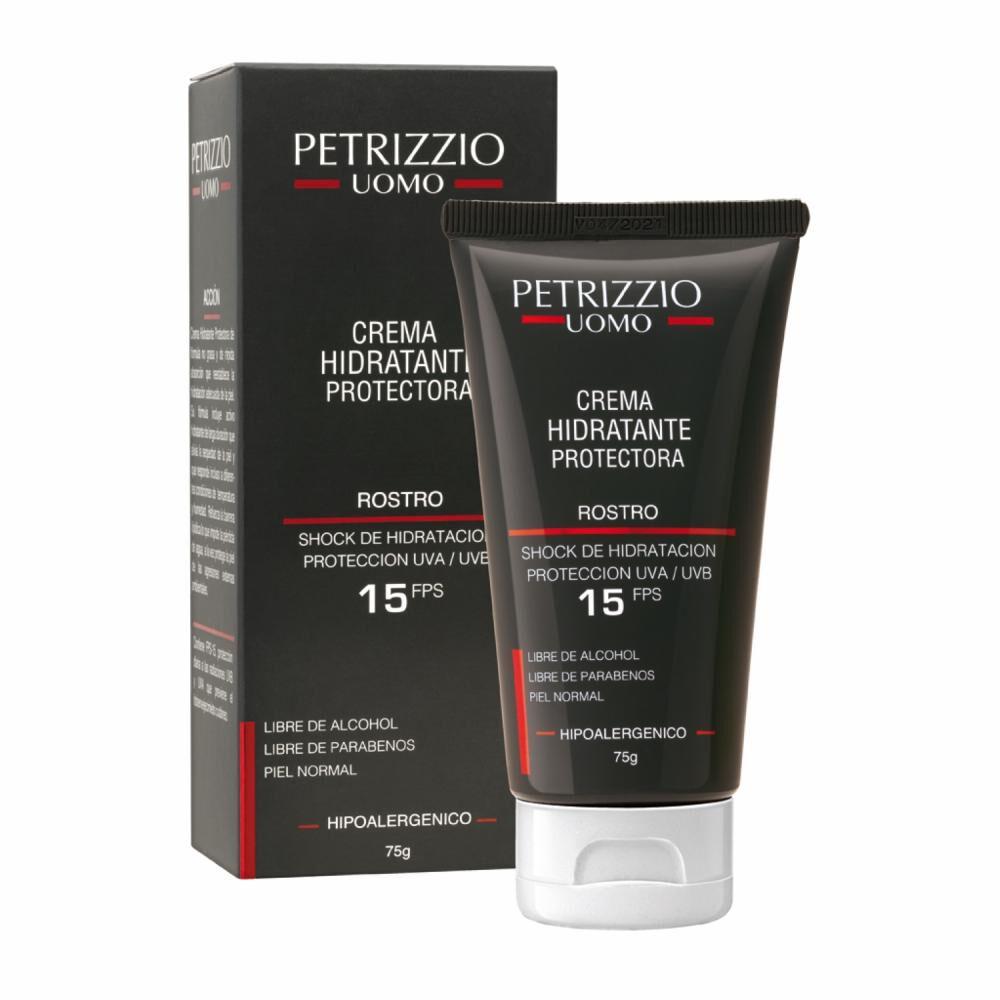 Crema Hidratante Rostro Petrizzio Uomo Fps 15 image number 0.0