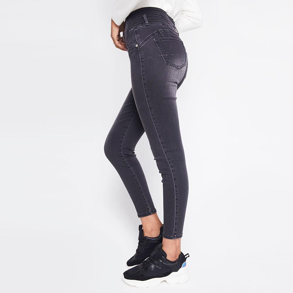 Jeans Mujer Tiro Alto Skinny escultural Rolly go image number 2.0