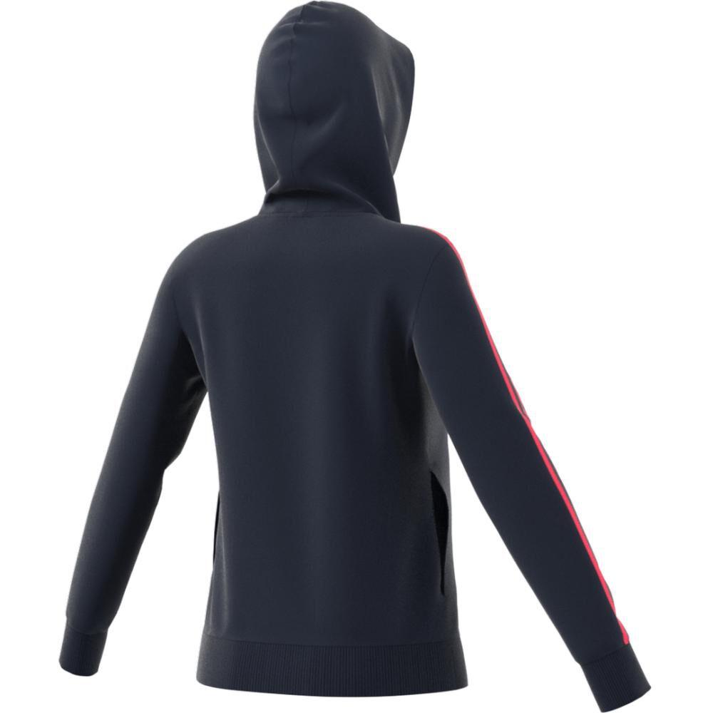 Poleron Deportivo Mujer Adidas Essentials Fleece 3s image number 2.0