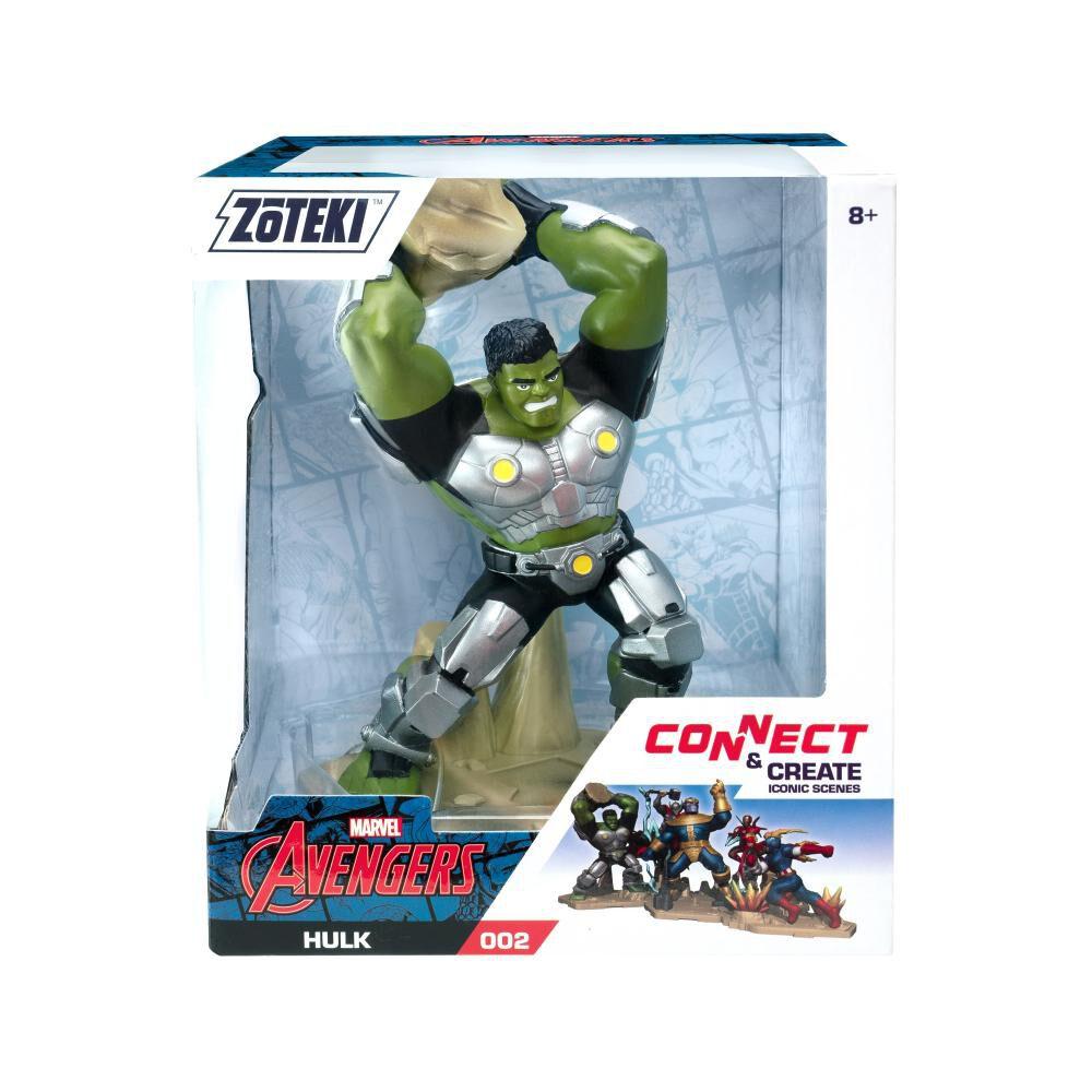 Figura De Acción Zoteki Avengers Hulk image number 1.0