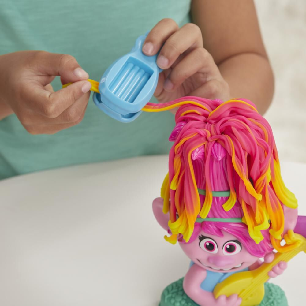 Masas Educativas Play Doh Trolls Poppy Cabello image number 2.0
