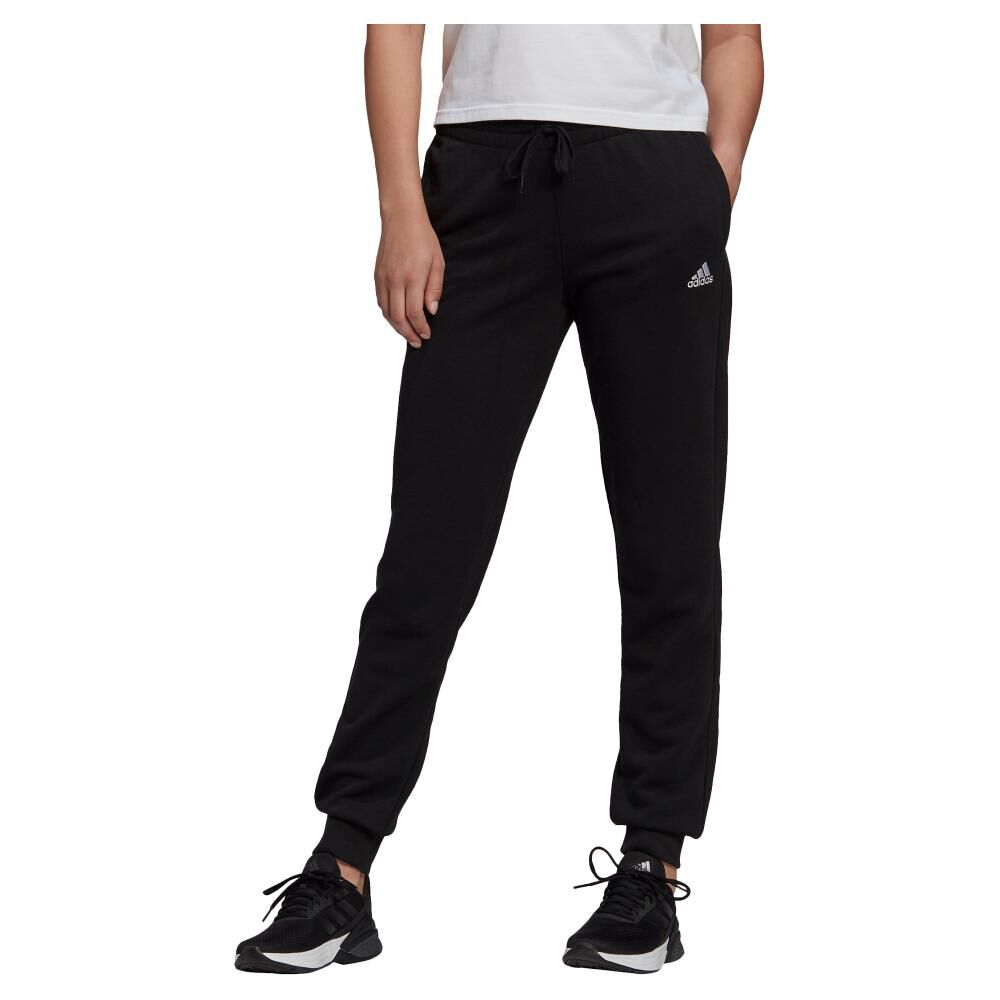 Pantalón De Buzo Mujer Adidas Essentials French Terry Logo image number 0.0