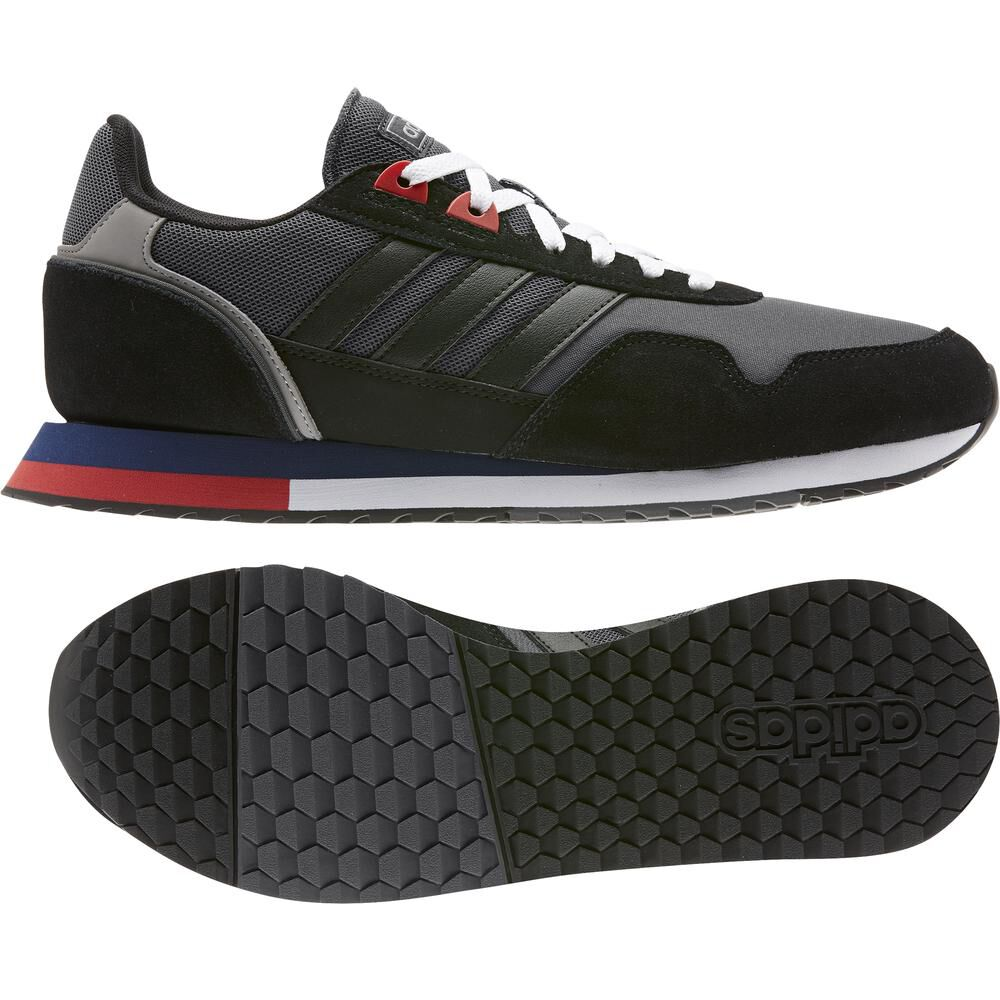 Zapatilla Running Hombre Adidas 8k 2020 image number 5.0