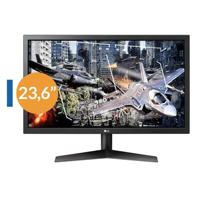 Monitor Gamer Lg 24Gl600F-B Fhd 144Hz / 24''
