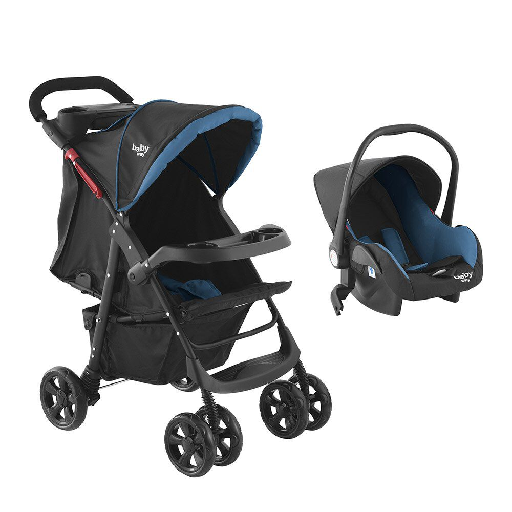 Coche Travel System Baby Way Bw-413B18 image number 0.0