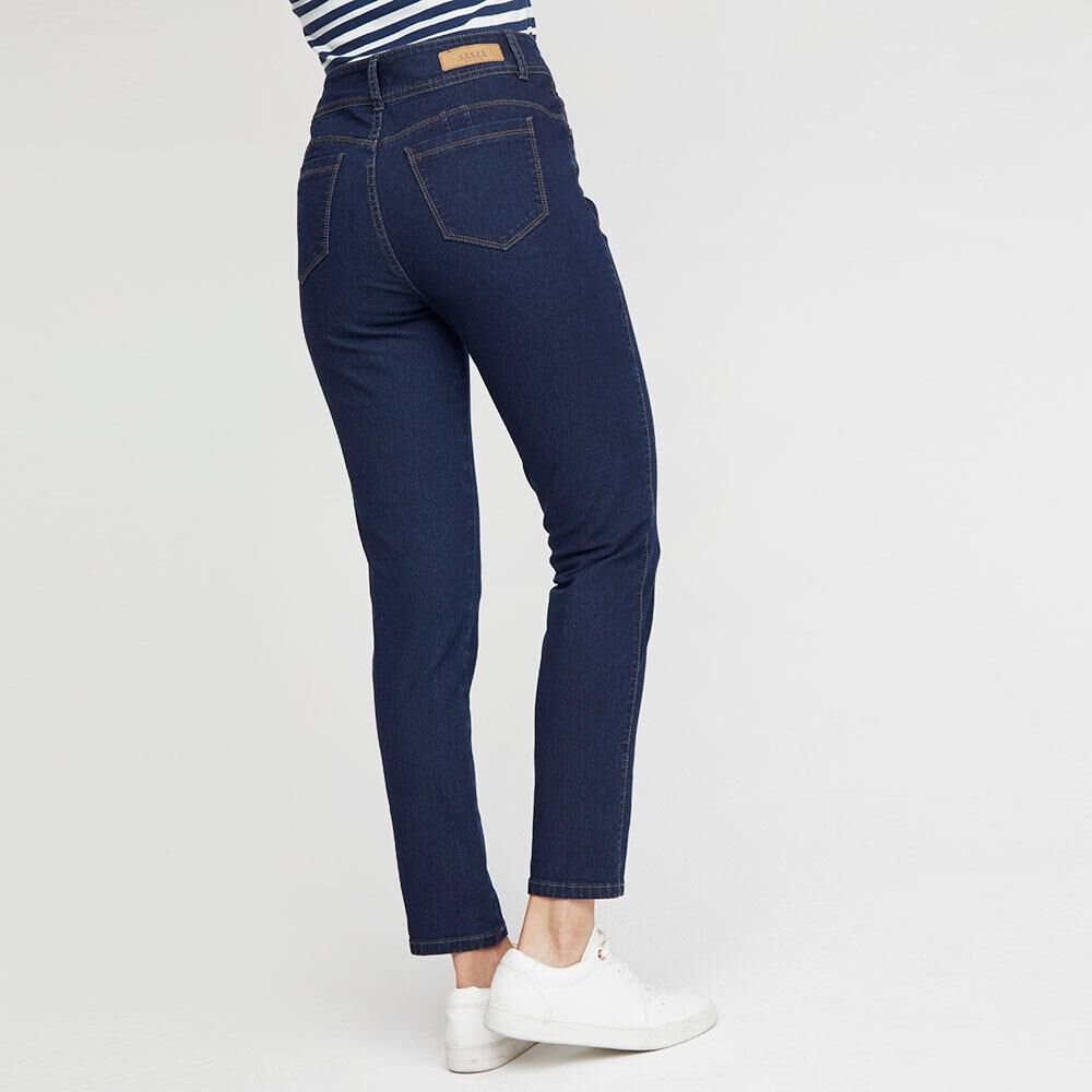 Jeans Mujer Tiro Alto Push up Geeps image number 2.0