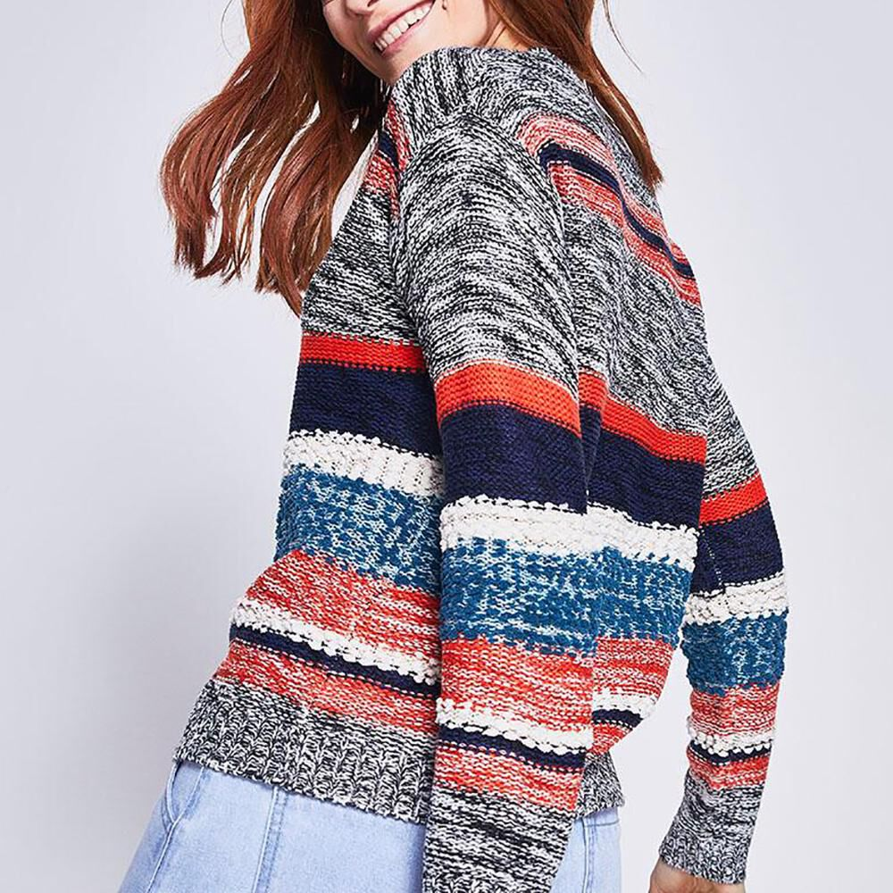 Sweater Rayas Mujer Ocean Pacific image number 2.0