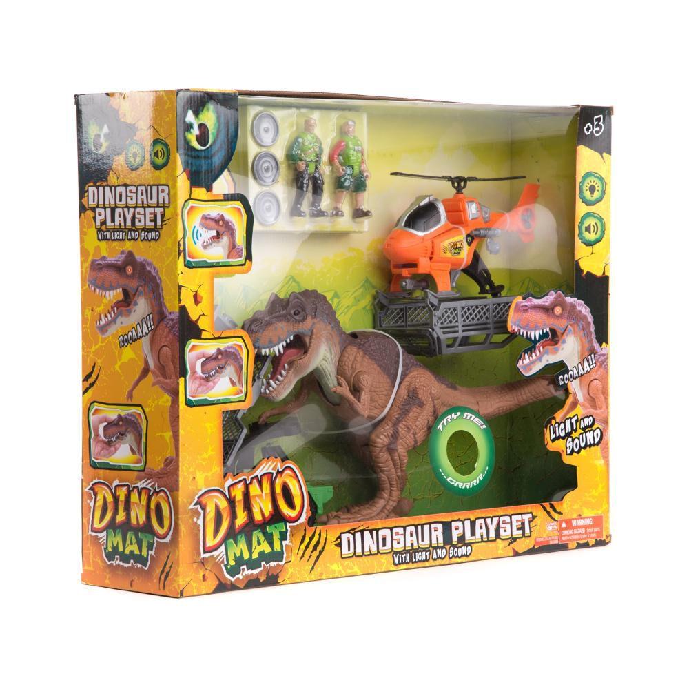 Set De Juguetes Marca De Proveedor Dinosaurio Set Completo image number 0.0