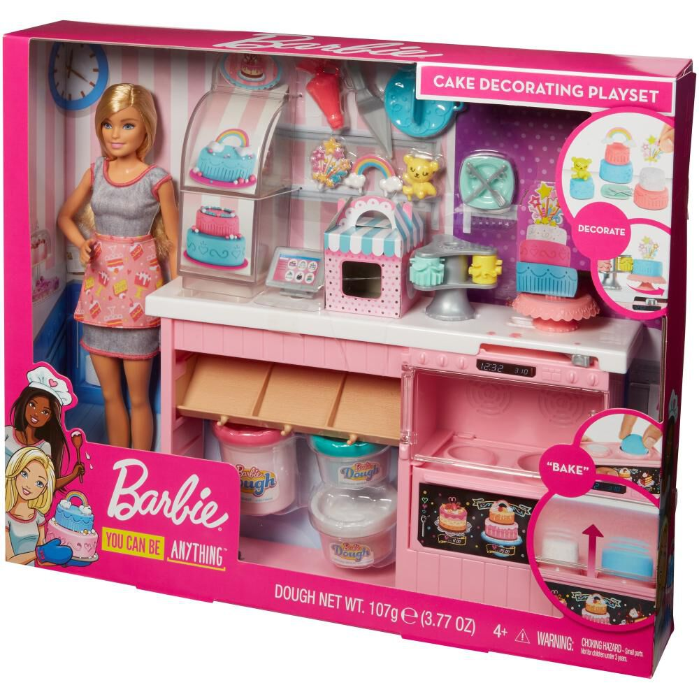 Muñeca Barbie Chef De Pasteles image number 5.0