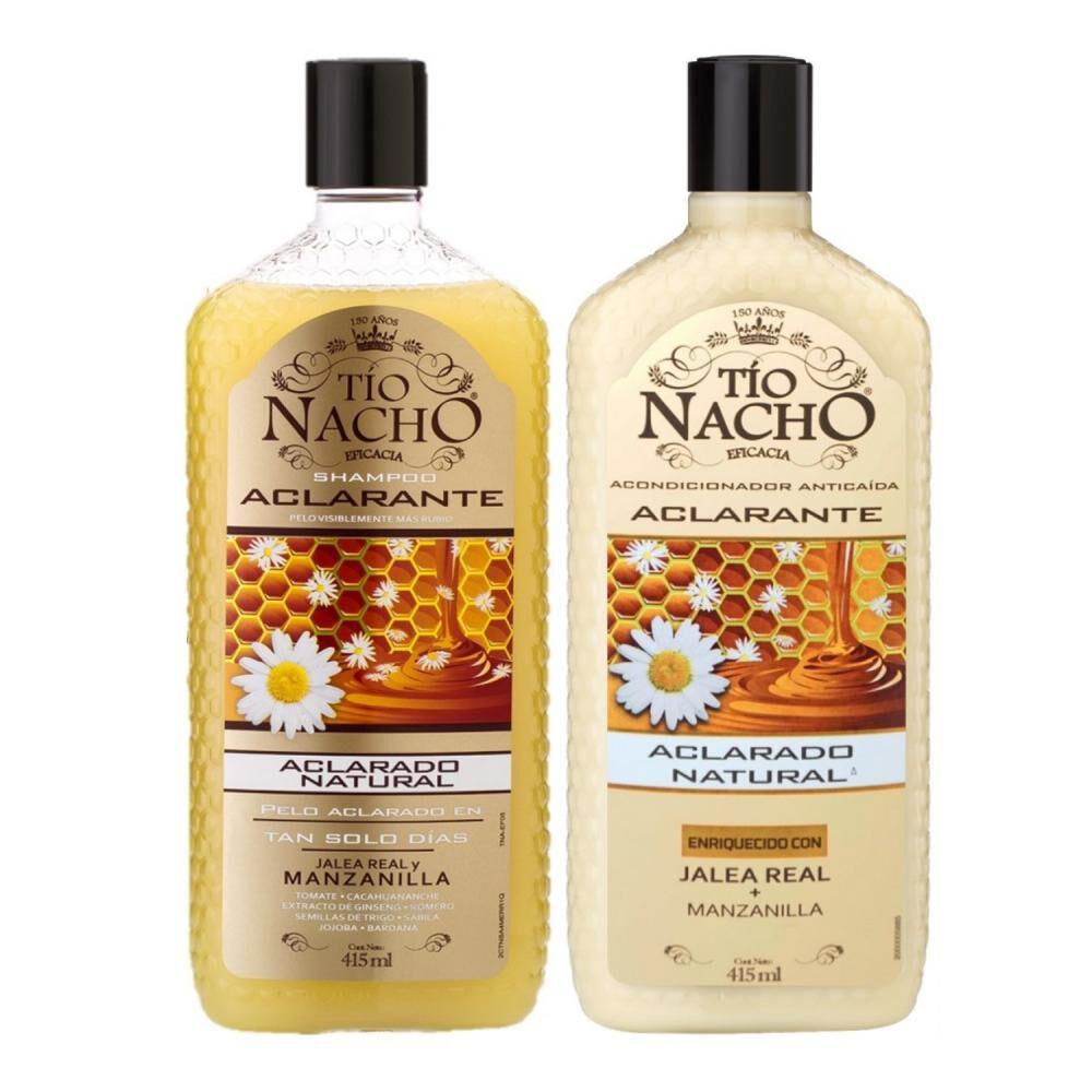 Pack Tio Nacho Shampoo + Acondicionador Jalea Real image number 0.0