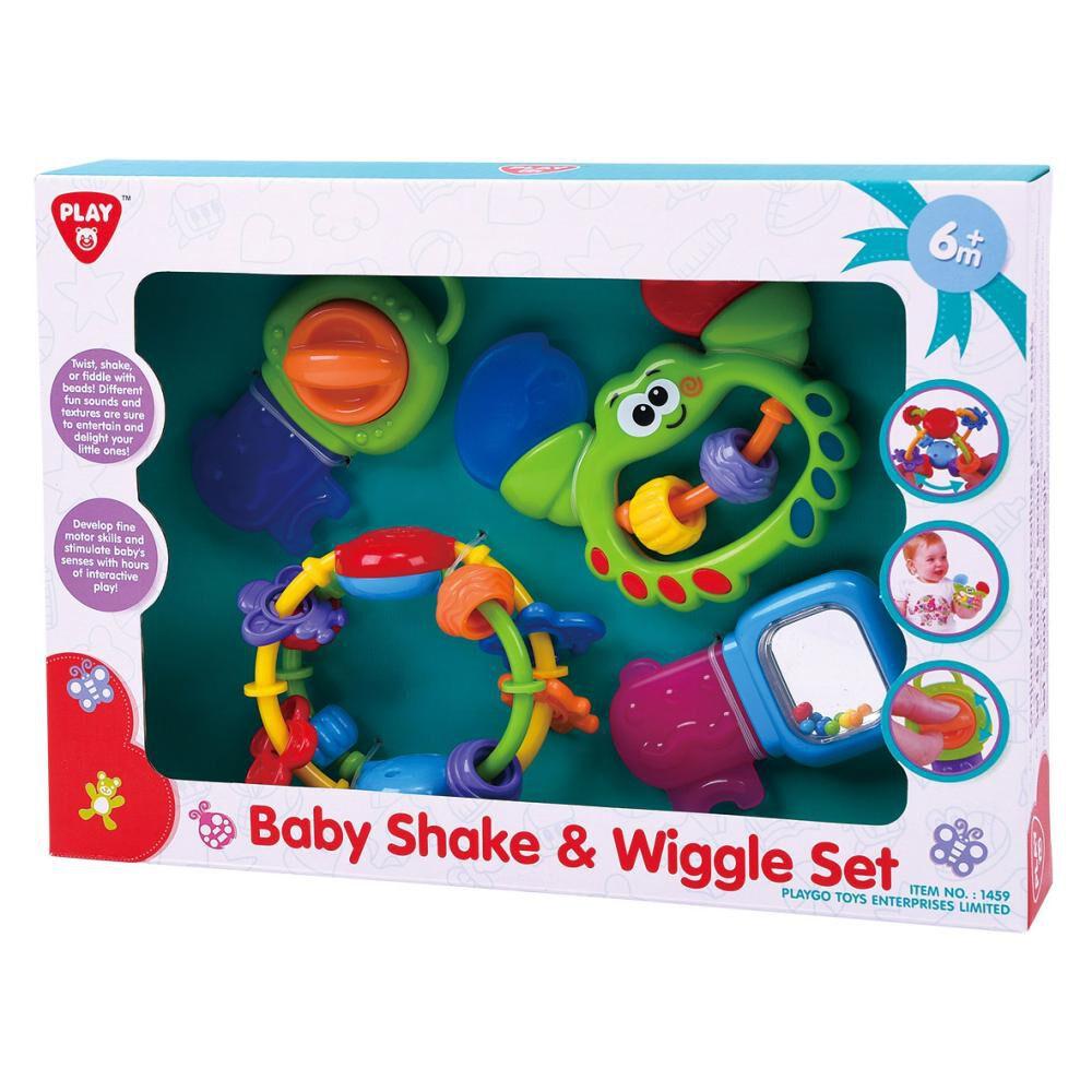 Juego Didactico Hitoys Set De Baby Shake & Wiggle image number 0.0