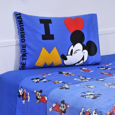 Juego De Sabanas Disney Mickey / 1.5 Plazas