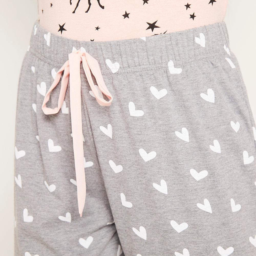 Pantalón Pijama Capri Mujer Freedom image number 3.0