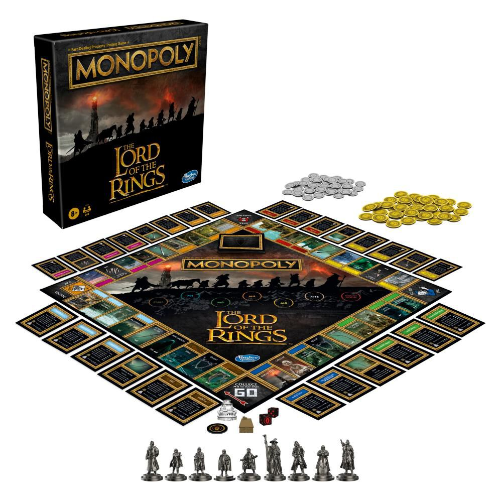 Juego De Mesa Monopoly The Lord Of The Rings image number 2.0